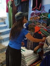 Chefchaouen - Lea Thifa - Shopping