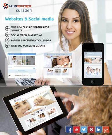 Curaden hubspider marketing your dental practice on social media