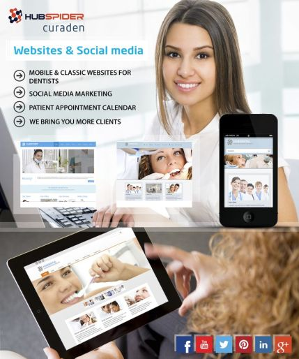 Curaden hubspider marketing your dental practice on social media