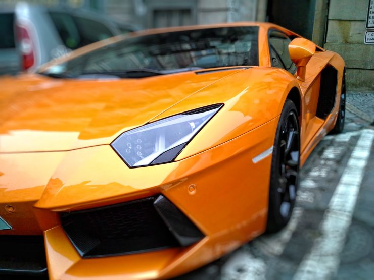 lamborghini racing car automobiles