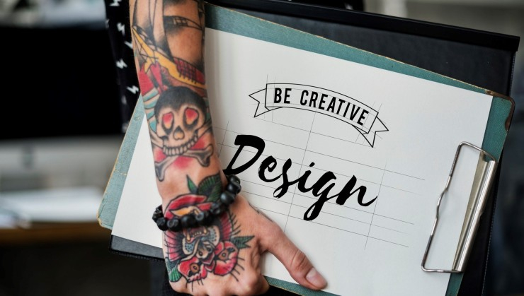 web design and creativity