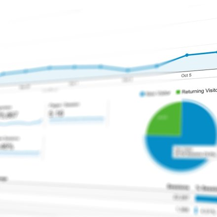 SEO and PPC analytics chart data