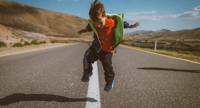 autism and happy kid